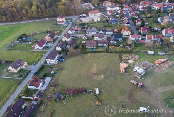Prodej stavebních pozemků v Chlumu u Třeboně