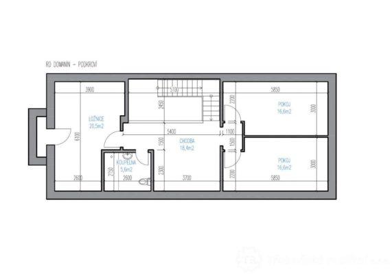 Prodej novostavby rodinného domu v Domaníně